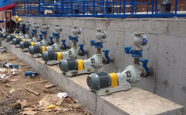 Jiangnan stainless steel magnetic pump sent to The Company