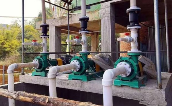 Jiangnan lined fluorine magnetic pump exported to Malaysia
