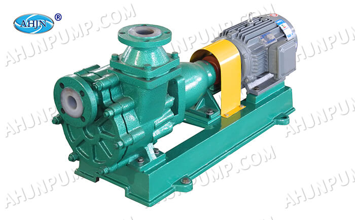 FZB fluorine plastic self-priming pump