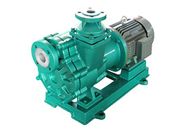 ZCQ fluorine plastic self-priming magnetic pump